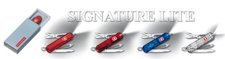 dostępne kolory okładek scyzoryka Signature Lite 0.6226